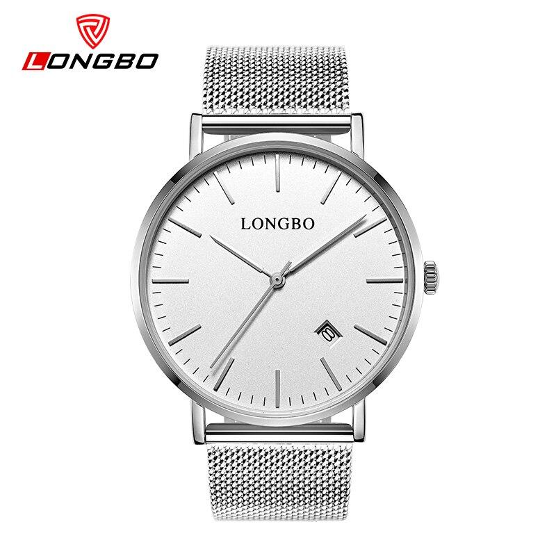 시계 브랜드 시계 LONGBO 시계 브랜드 시계 초박형 - 남성 시계