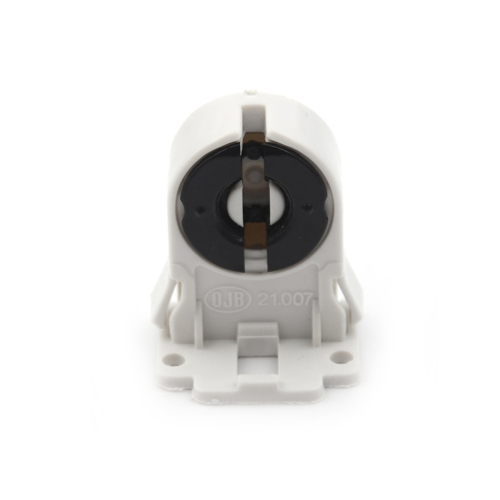<font><b>T8</b></font> Fluorescent Light <font><b>Socket</b></font> <font><b>Lamp</b></font> Base AC100-250V Plastic Holder suitable forT8 G13 LED bracket <font><b>lamp</b></font> image