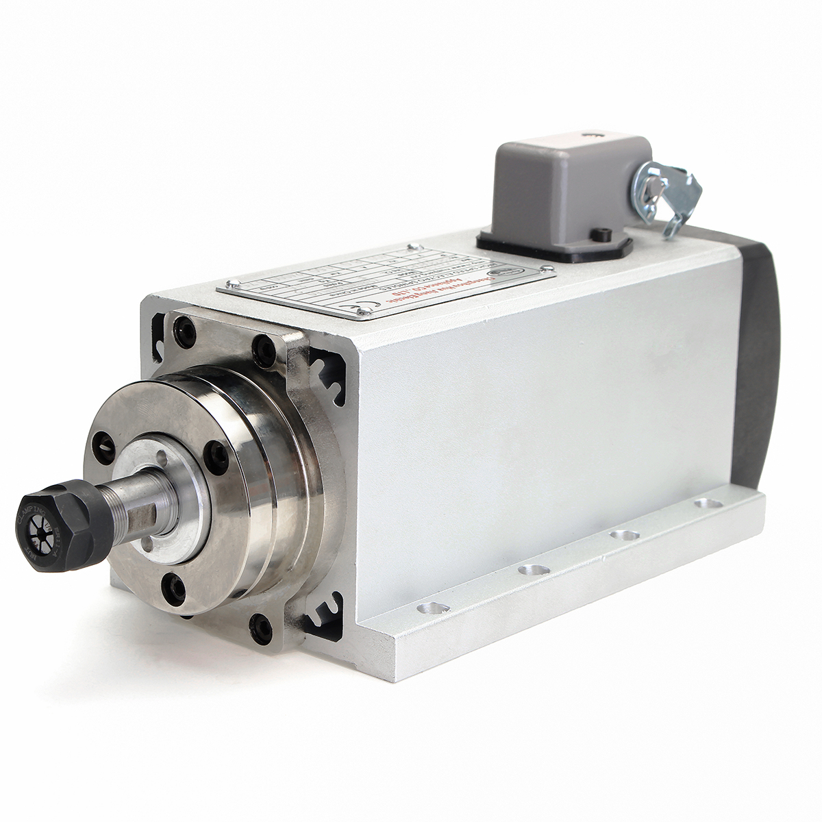 1Pcs 1500W 1.5KW Air Cooled CNC Spindle Motor Woodworking Engraving Machine Principal Axis DIY Power Tool Parts