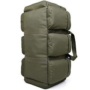 Image 2 - Sac à dos militaire tactique de grande capacité 90l, sac à dos de voyage pour hommes, camping randonnée étanche