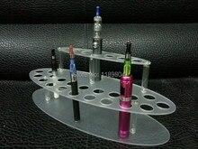 5ชิ้นe cigชั้นวางจอแสดงผลบุหรี่อิเล็กทรอนิกส์คริลิคที่ชัดเจนบุหรี่อิเล็กทรอนิกส์กล่องแสดงที่วางชั้นวาง