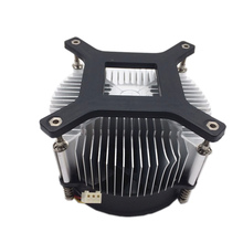 50w 100w high power led heatsink DC 12V 1.2A cooling fan +44mm lens kit for 20W 30W 50W LED chip