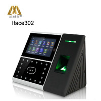 Biometric Iface302 face & fingerprint & IC card access control and time attendance optional backup battery, WIFI, 3G, ADMS