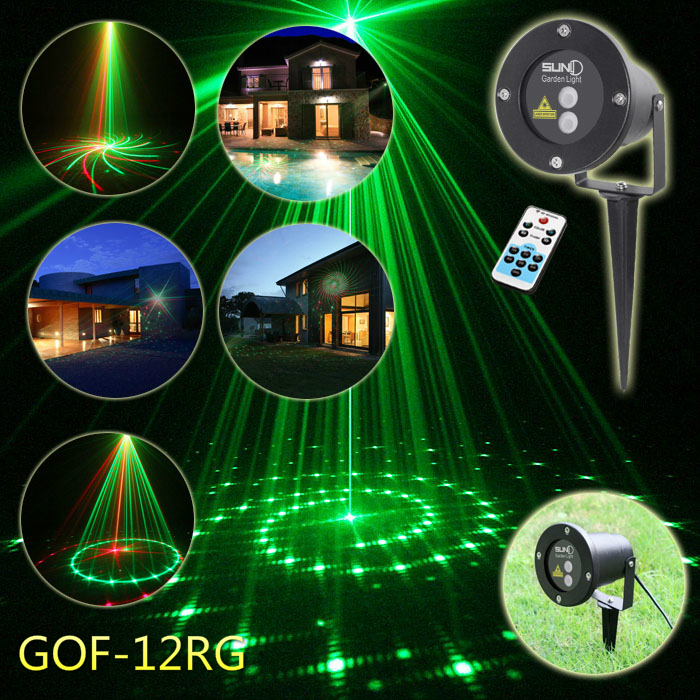 High Quality Laser Outdoor Light IP67 Waterproof Red &Green Landscape Spotlight for Easter Day Decoration Outdoor Garden Yard beautiful alumium ip67 outdoor eu us uk plug tree garden party festival christmas decoration green red mini led laser light