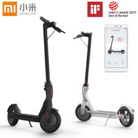 Xiaomi M365 Smart Electric Scooter Foldable Light Long Board Hoverboard Skateboard 30KM Mileage With APP LG