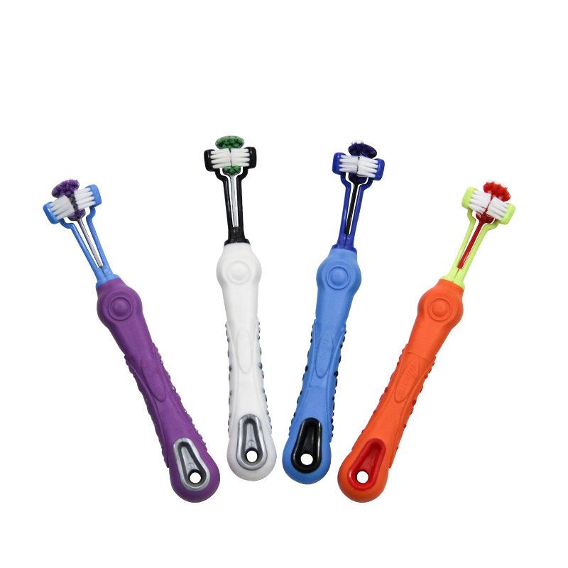 Cepillo de dientes antideslizante para perros 8