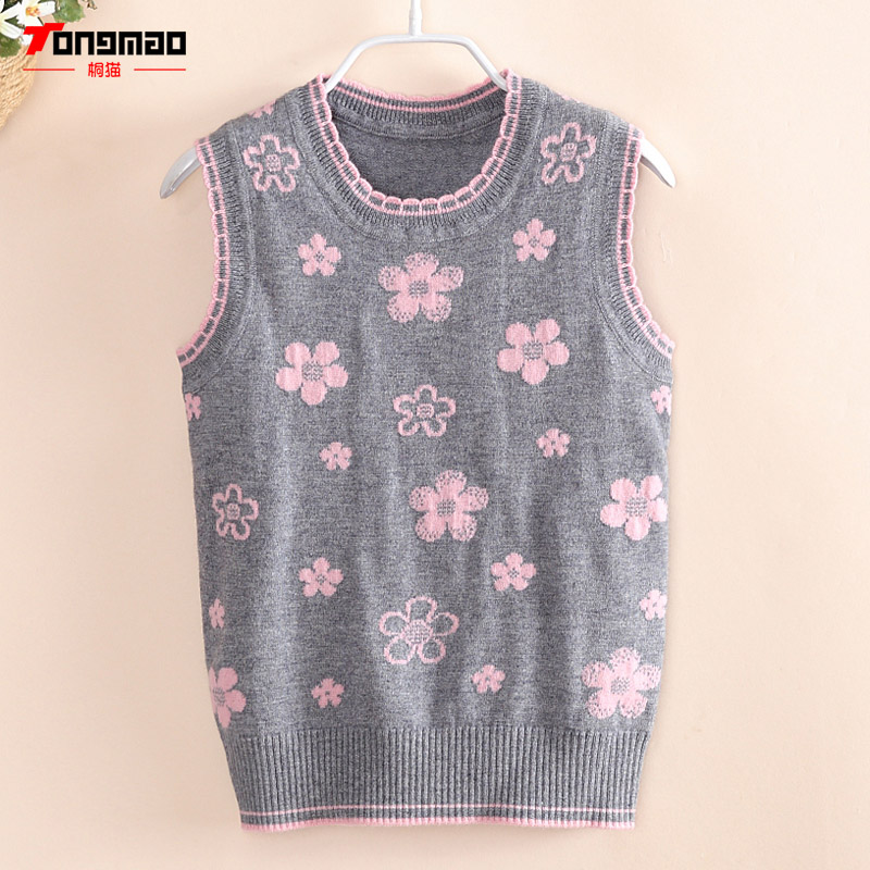 Baby Girls Sweater 2017 Autumn Winter Warm Wool Floral Pattern ...