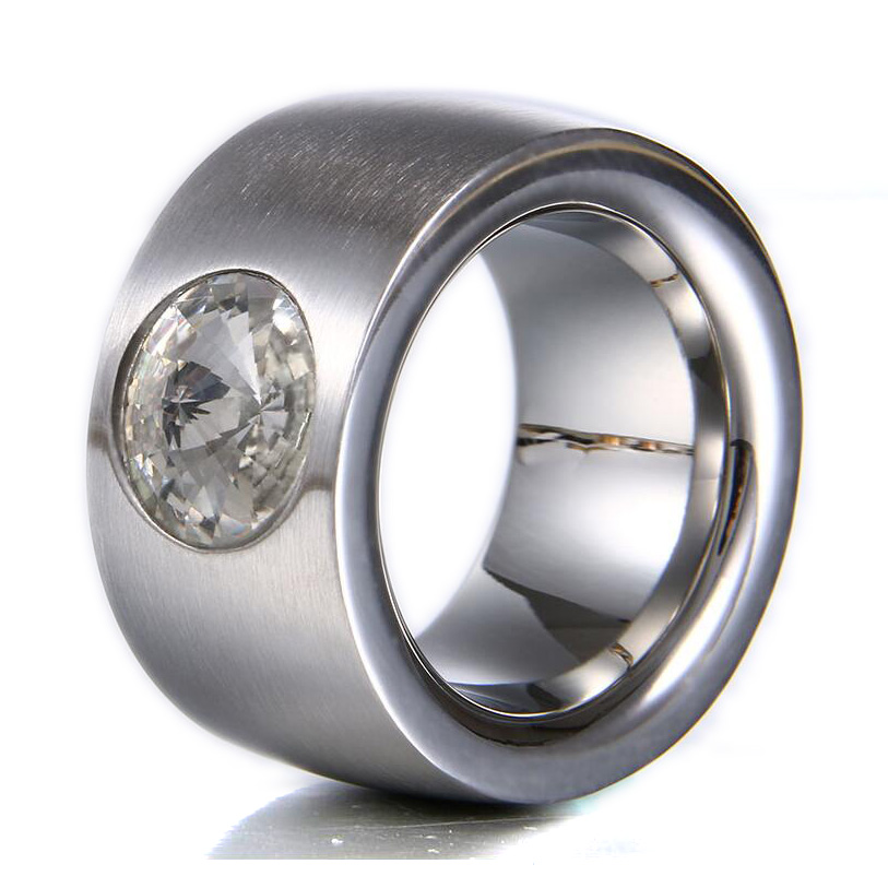 luxury large rings for stainless steel ring for