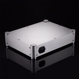 Image 5 - Nobsound Pre Amplifier Box Headphone Amp Case DAC DIY Chassis Aluminum Enclosure Silver