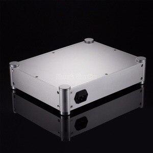 Image 5 - Nobsound caixa amplificadora em pré amplificador, estojo de fone de ouvido, dac diy, gabinete de alumínio, prata