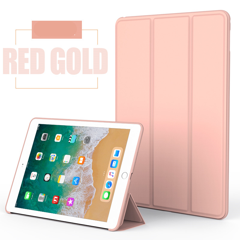 Rose Gold Monochrome smart case with silicone back for Apple iPad Pro 10.5