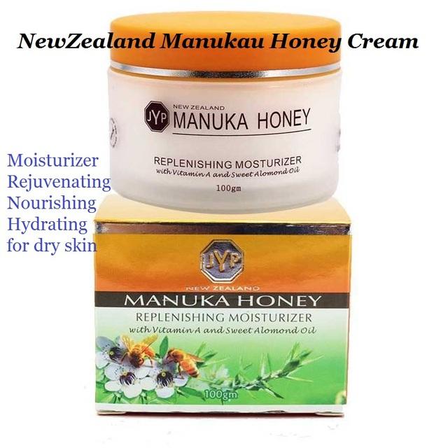 JYP Manukau nova zelândia Mel Creme de Reposição Hidratante nutritivo Rejuvenescimento creme nutre profundamente & hidratante para a pele seca