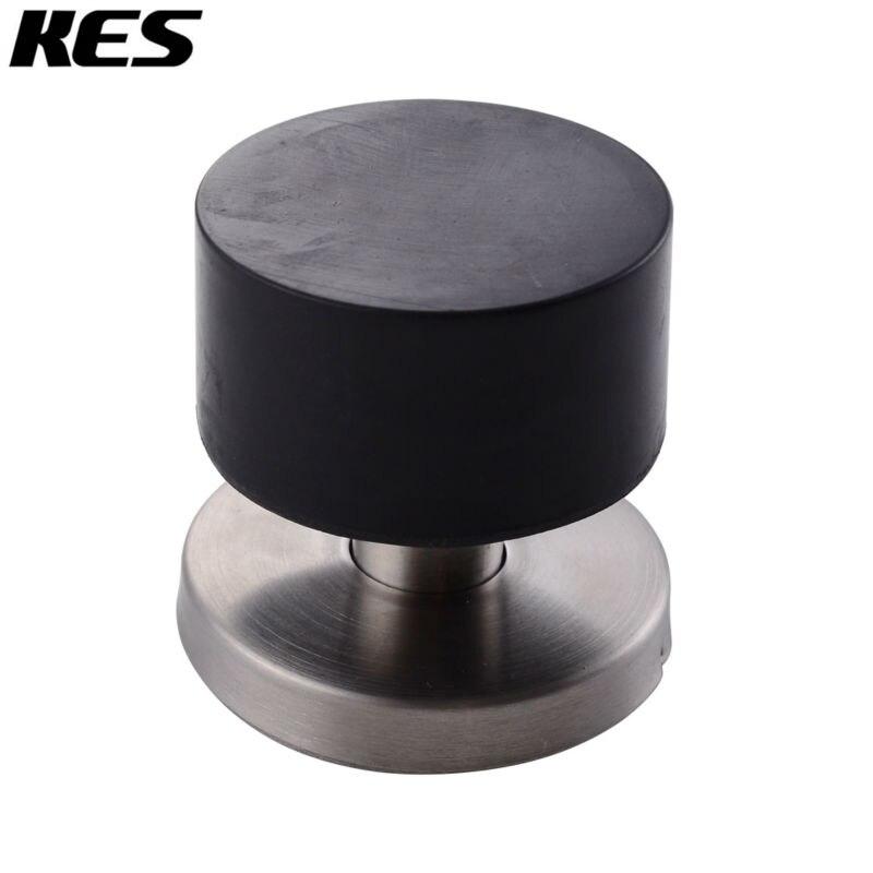 KES SUS 304 Stainless Steel Contemporary Safety Door Stop Metal Door Holder  Doorstop With Sound Dampening