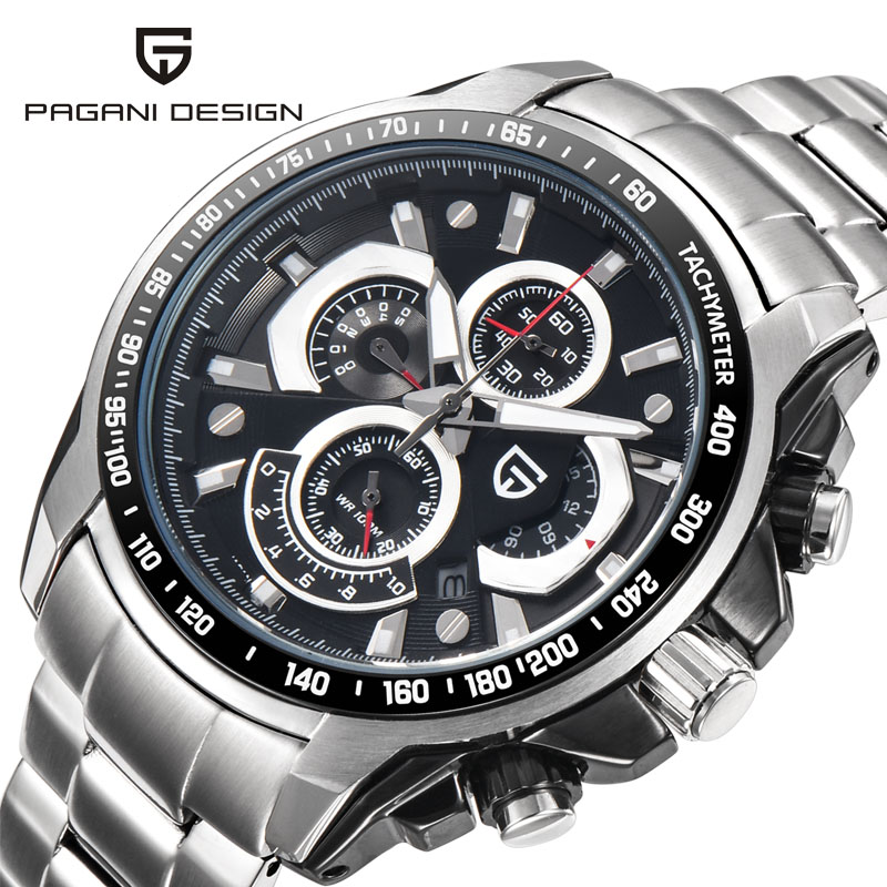 PAGANI DESIGN 2018 Sport Quartz Watch Men Dive 30m Multifunction Military  Watches Men Luxury Brand Clock Men Relogio Masculino solomeya лак для ногтей тон ch02 мохито