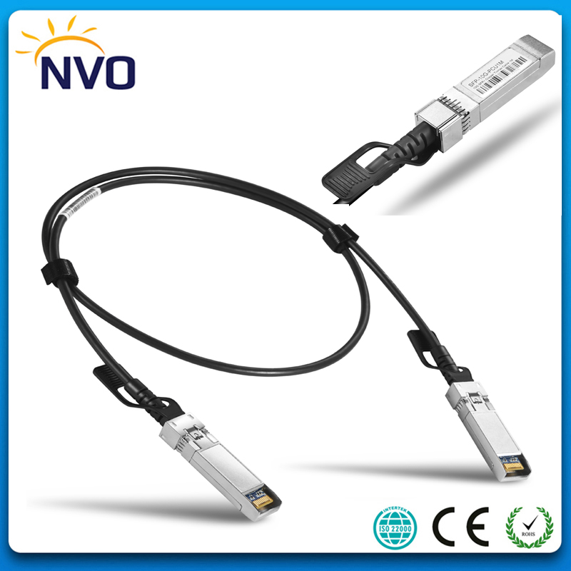 10G SFP+ Copper Twinax 1M 30AWG Direct Attach Passive DAC Cable,Data Storage 10G SFP+ Direct Attach Cable