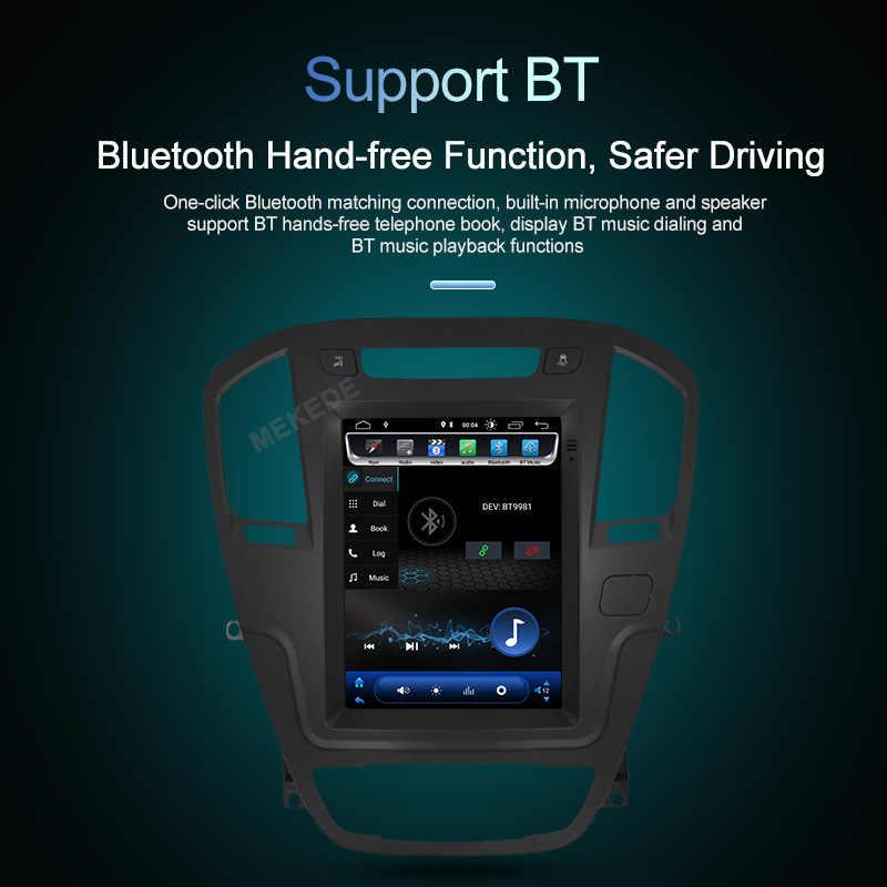 MEKEDE автомобильный Радио Android 8,1 Tesla стиль gps навигация dvd-плеер для Opel Insignia Vauxhall Holden 2008-2011 CD300 CD400