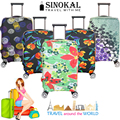 2016 New Fashion Design Luggage Covers Elastic Spandex FlexibleTravel Suitcase Cover