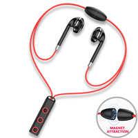 BT313 Auricolari Bluetooth di Sport Senza Fili Della Cuffia Handsfree bluetooth Auricolari Auricolari Bassi con Il Mic per il Telefono xiaomi iphone