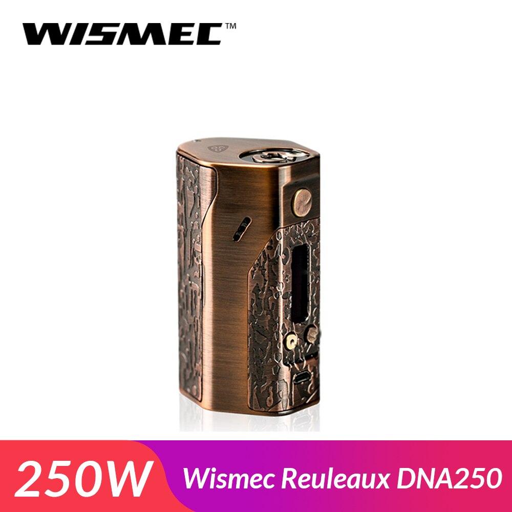 Promotion Original Wismec Reuleaux Evolv DNA250 Limited Version Box Mod TC VW Mod 1 250W Mod