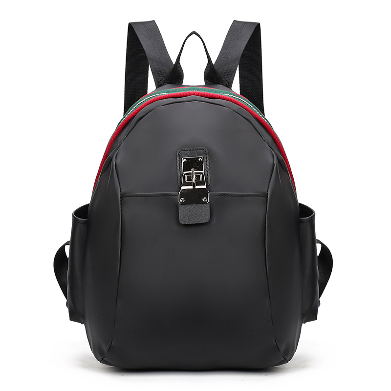 Backpack Women Zipper Pocket Solid Color Backpacks For Teenage Girls Rucksack Mochilas Femininas Laptop TravelBag
