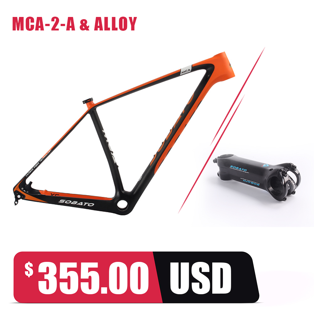 Sobato 29er MTB del carbón marco de la bicicleta de carbono Fibra ...