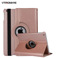 VTRONHYE Case For IPad Pro 12 9 Inch 2017 360 Rotating Stand Flip Smart PU Leather