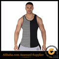 Long Tank Tops  black and white stripe vest Stringer Muscle top for  wear extended length Stripe tank tops2016 free shipping s