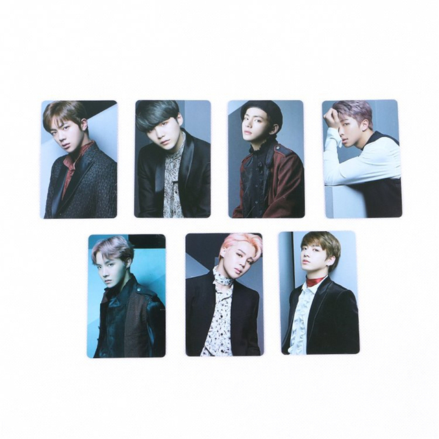 BTS Members Photo Card