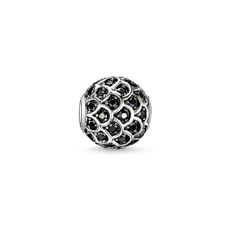 Ən yüksək keyfiyyətli gümüş örtüklü Diy kristal muncuq moda - Moda zərgərlik - Fotoqrafiya 4