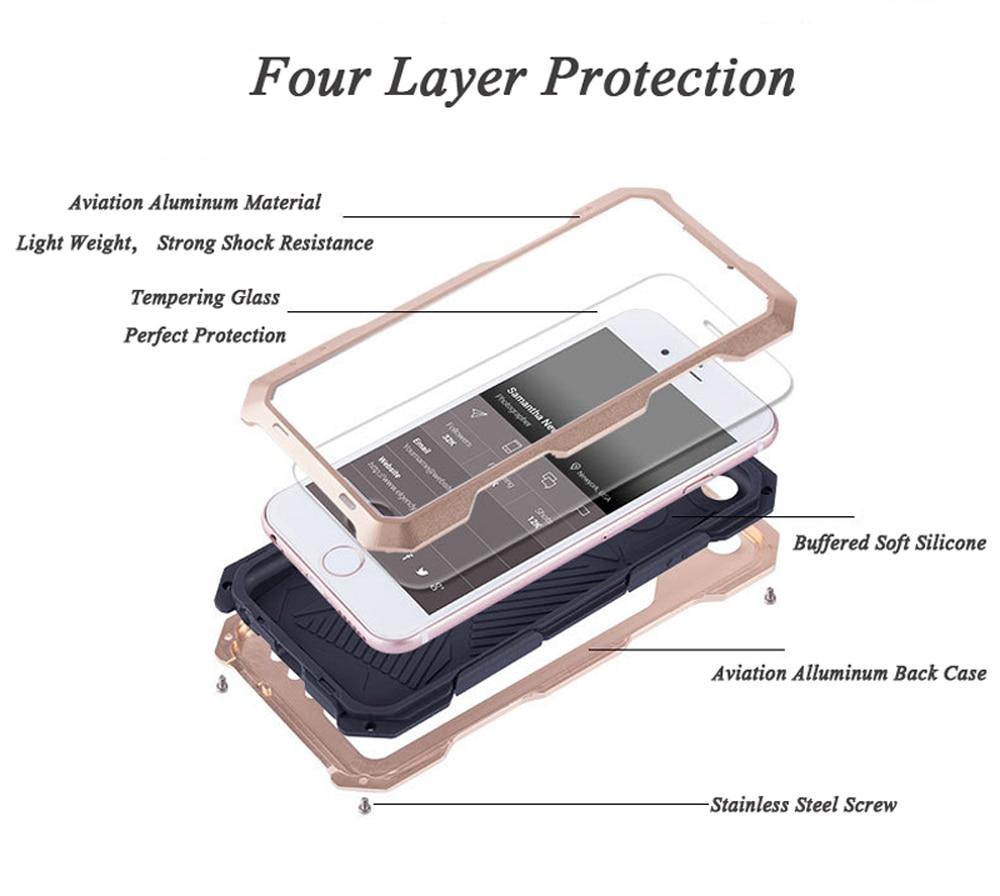 SA92-Dirt-Shock-Waterproof-Metal-Alluminum-Alloy-Phone-Case-For-iPhone-6-6s-Plus-+-Wide-Angle-Lens-Fisheye-Lens-Macro-Lens- (5)