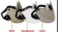 2019 New original BEON helmet lens beon retro helmets visor for B 108 helmets visor three button eyeglass made of PC FREE Size