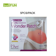 5pcs Model Favorite MYMI Wonder Slim Patch Belly Slimming Products Lose font b Weight b font