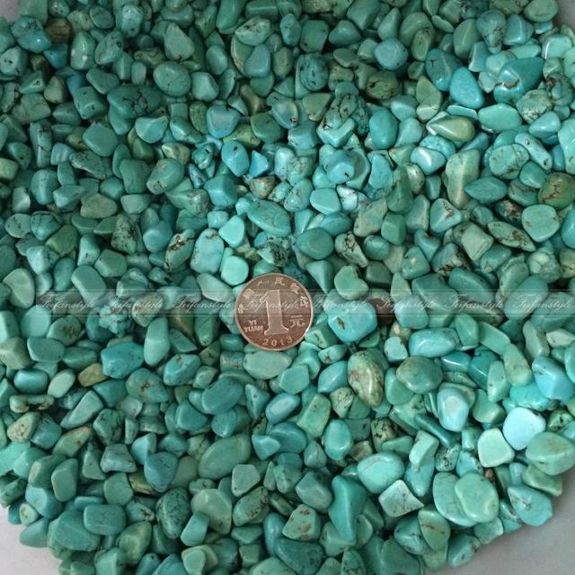 En gros 50g Turquoise Gravier En Vrac Turquoise Vert Écrasé Cristal ...