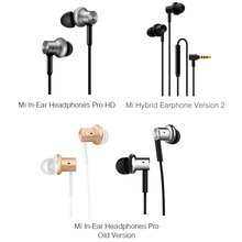 Dual Dynamic Balanced Earphones with Wire Control Microphone