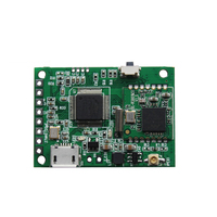 2.4G 13DBM AV to WiFI Wireless Video Module FPV Transmitter Module 3V 5V for RC Drone Model Aircraft/Video Surveillance