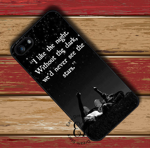 Moon And Stars Quotes Tumblr Case For Iphone X Xr Xs Max 4s 5s Se 6s