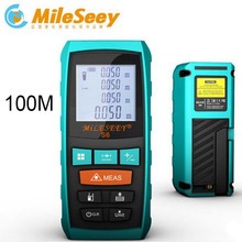 Best price Blue S6 Tools And Measuring and Laser Distance Meter 100m Laser Measure Device Tool with end piece