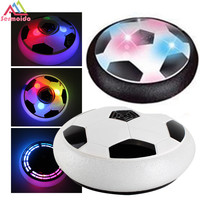 Kids Toys the Amazing Hover Ball with Powerful LED Light Boys Girls Sport Children ToyTraining Football With Parents Game B226