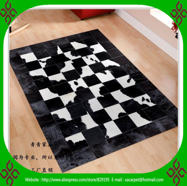 2017 free shipping 100% natural genuine cow leather turkish prayer rugs