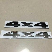 3D 4X4 Four Wheel Drive Sticker Logo Emblem Decals