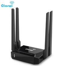 בית WiFi 300Mbps נתב WiFi עבור 3G 4G USB מודם openWRT Mobile Hotspot 4 LAN RJ45 יציאת omni 2 אלחוטי נתב omni השני הקושחה