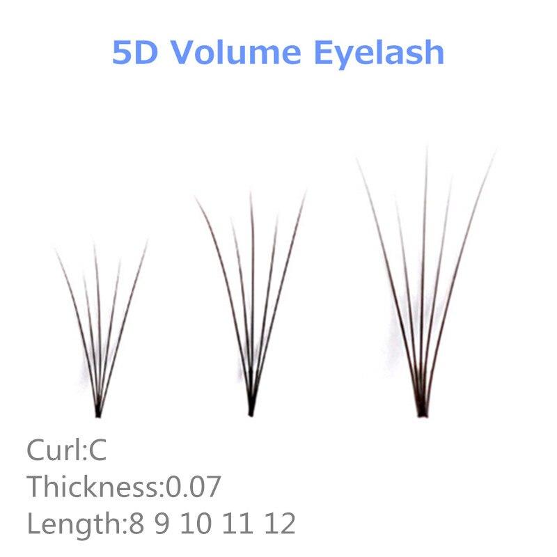 NEWCOME Individual Cluster Eyelash Bundles 5d Russian volume eyelash extensions C curl 0 07 thickness bloom Eye Lash Eyelash in False Eyelashes from Beauty Health