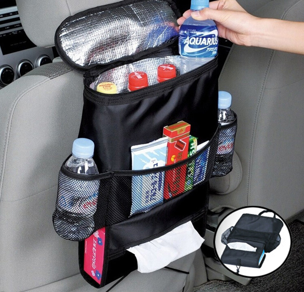 Keep Warm Cold Car Back Seat Organizer Holder Storage Bag Baby Kick Mat Protector Travel Tissue Box Pouch Hanger Mud Cover In Stowing Tidying From