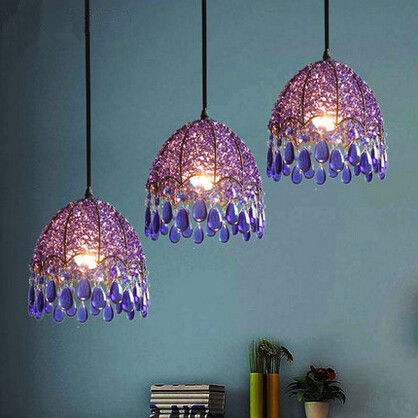 K9 Crystal Lustre Beautiful Modern LED Pendant Light Romantic Hanglamp Fixtures For Cafe Bar Home Lighting Lamparas Colgantes modern led pendant lights for kitchen dining room home lighting lamparas colgantes lustre hanglamp pendant lamp light fixtures