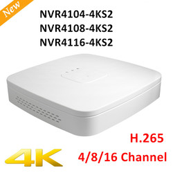 Original Export Version DH NVR4104-4ks2 NVR4108-4ks2 Smart 1U Mini NVR H.265 8mp 4ch/8ch NVR Without logo