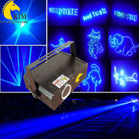 300mW blue animation laser light with SD Card/30kpps blue laser light for party lighting/logo projector/laser lighting holiday