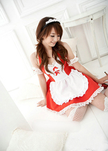 New Halloween Costume Lace Dress Women Cosplay Outfit/Lace Lovely Women Dress/Sexy Japanese Maid Lolita Uniform