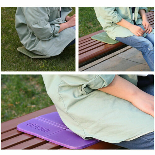 Portable Outdoor Folding Foldable Foam Seat Waterproof Chair Cushion Mat Pad XPE Send In Random Color