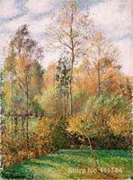 impressionist art Autumn Poplars Camille Pissarro paintings High quality Hand painted