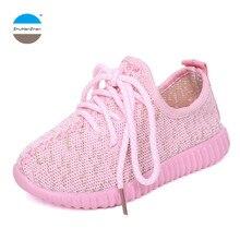 Детские кроссовки для мальчиков и девочек 1-12 лет, повседневная спортивная обувь с мягкой подошвой, Детские кроссовки высокого качества